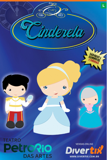Capa da peça Cinderela