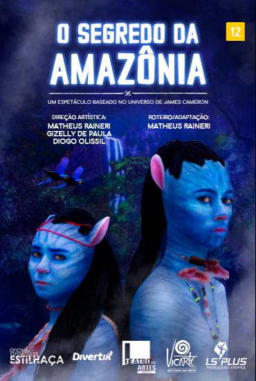 Capa da peça Espetáculo O Segredo da Amazônia