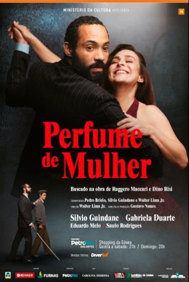 Capa da peça Perfume de Mulher