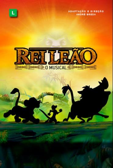 Capa da peça REI LEÃO - O musical