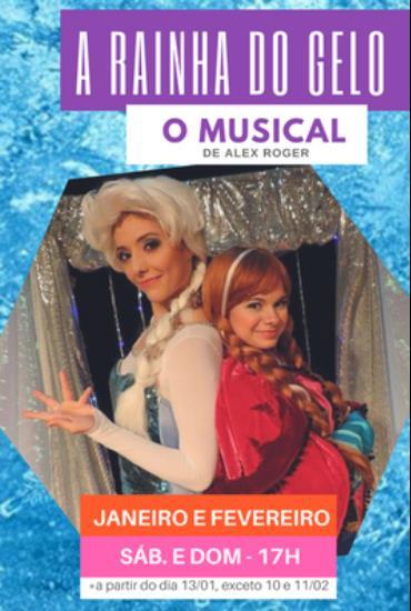 Capa da peça RAINHA DO GELO