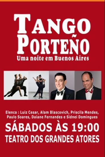 Capa da peça Tango Porteño - Uma noite em Buenos Aires