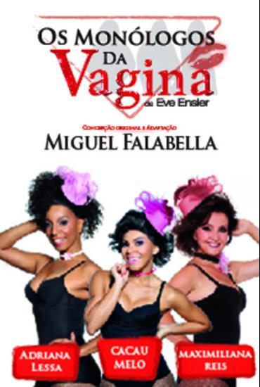 Capa da peça Os Monólogos da Vagina