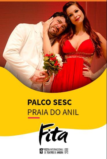 Capa da peça PALCO SESC  - Os Homens Querem Casar, As Mulheres Querem Sexo 2