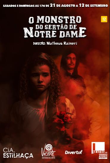 Capa da peça O Monstro do Sertão de Notre Dame
