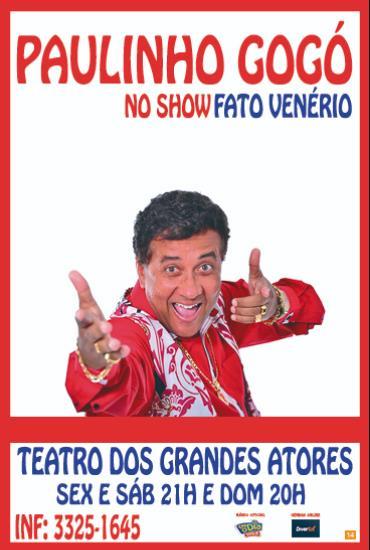 Capa da peça Paulinho Gogó - Fato Venério