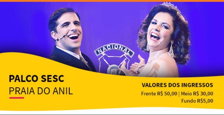Banner da peça TENDA - Emilinha