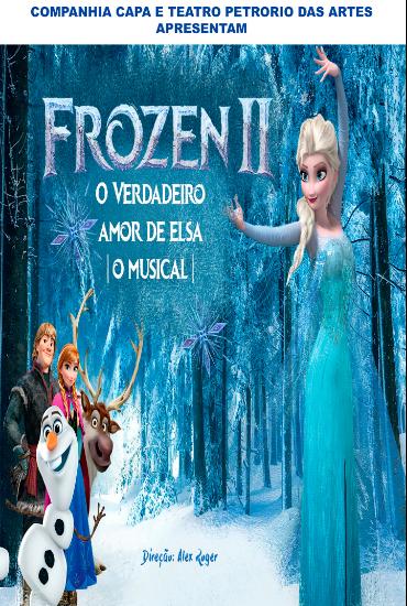 Capa da peça Frozen II - O Verdadeiro Amor de Elsa