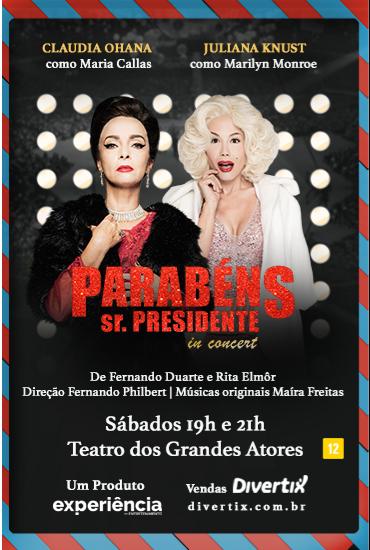 Capa da peça Parabéns Sr. Presidente - In Concert