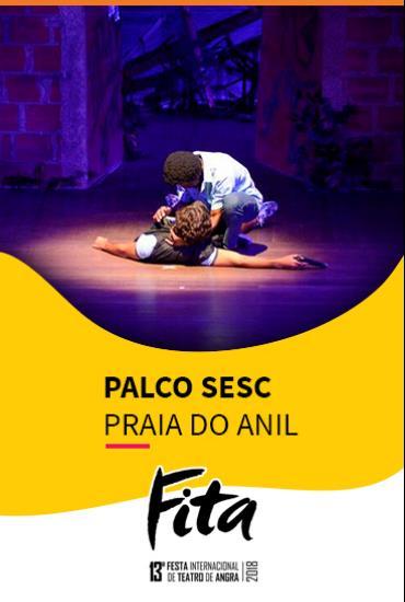 Capa da peça PALCO SESC  - Favela 2 – A Gente Não Desiste
