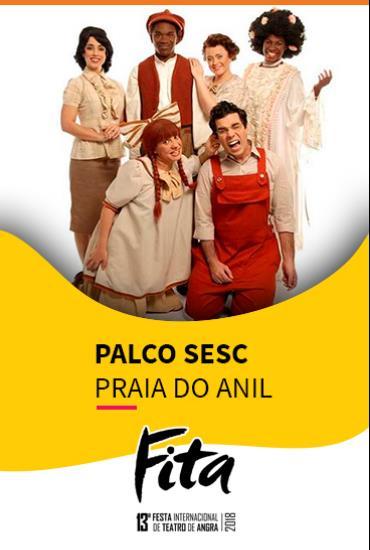 Capa da peça PALCO SESC  - Bituca – Milton Nascimento Para Crianças