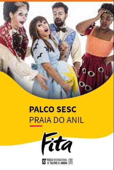 Capa da peça Palco SESC - Makuru