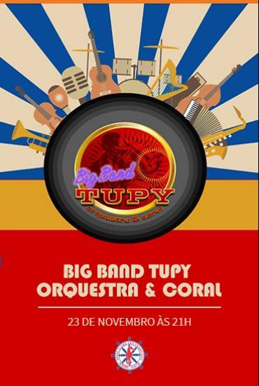 Capa da peça Big Band Tupy