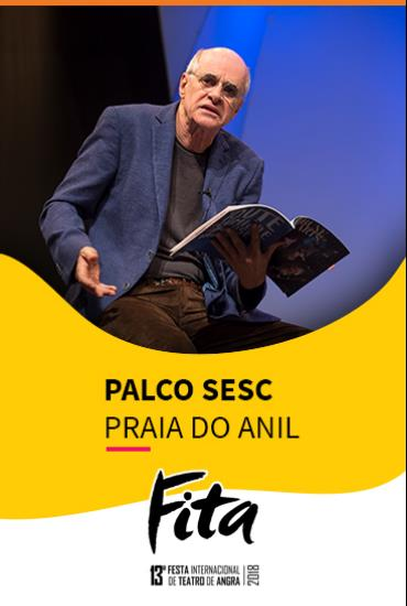 Capa da peça Palco SESC - O Escândalo de Philippe Dussaert