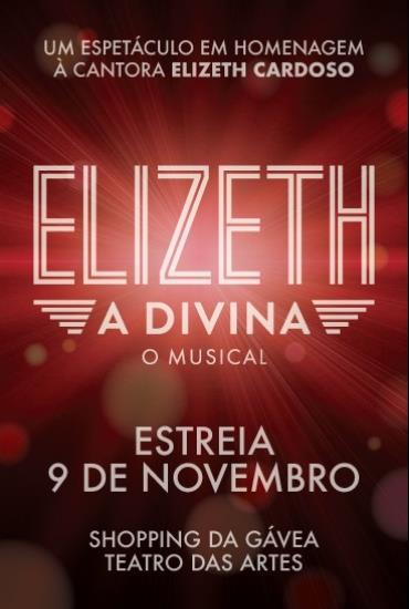 Capa da peça Elizeth, a Divina