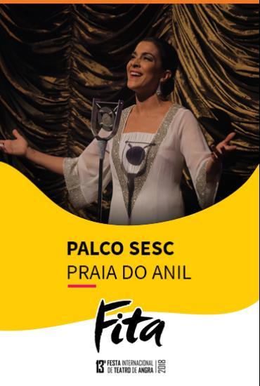Capa da peça Palco SESC - Elizeth A Divina