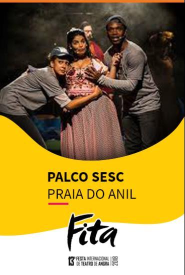 Capa da peça PALCO SESC  - A Vida Não É Um Musical – O Musical