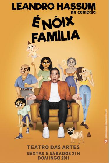 Capa da peça É Nóix Família