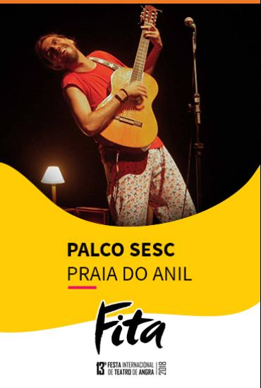 Capa da peça Palco SESC - Delírios Da Madrugada