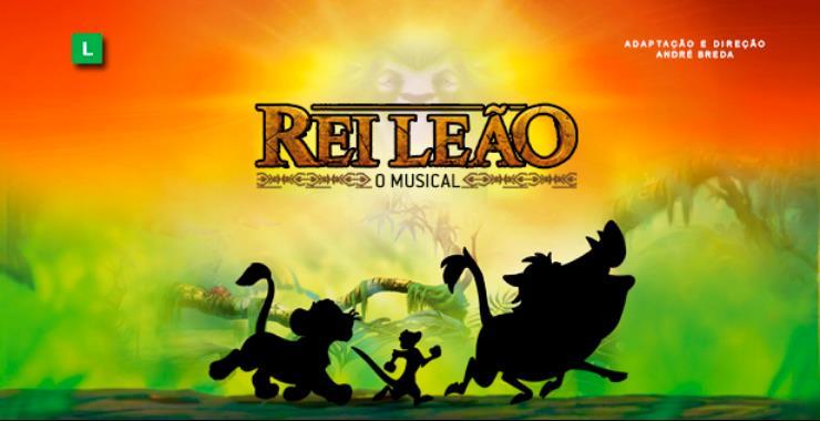 Banner da peça REI LEÃO - O musical