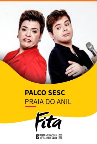 Capa da peça PALCO SESC  - Atrevido
