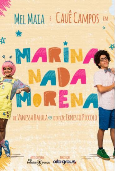 Capa da peça Marina Nada Morena