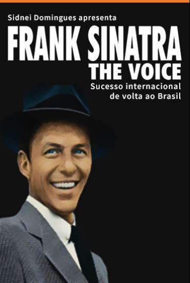 Capa da peça Frank Sinatra The Voice