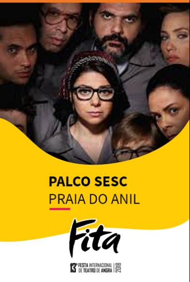 Capa da peça PALCO SESC  - Dançando No Escuro