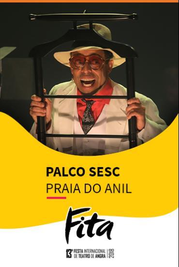 Capa da peça PALCO SESC  - Kid Morangueira – Olha O Breque!