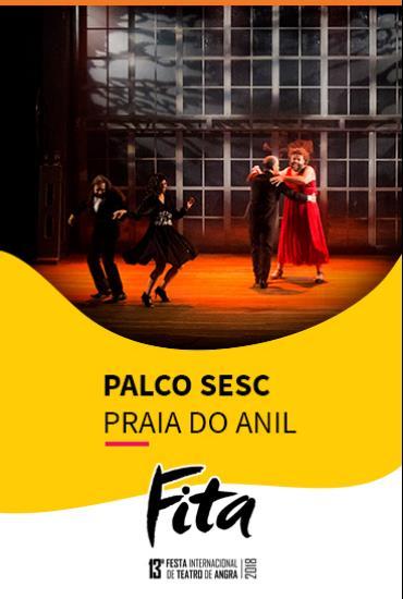 Capa da peça PALCO SESC  - Hamlet