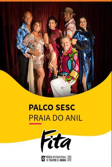 Capa da peça PALCO SESC  - Cafona Sim, E Daí?