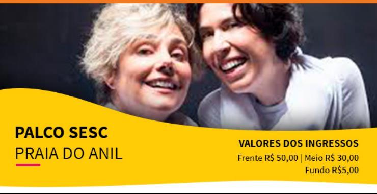 Banner da peça Palco SESC - Loloucas