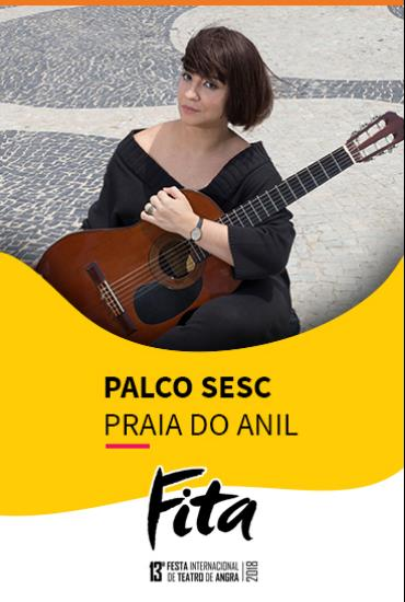 Capa da peça PALCO SESC  - Nara – A Menina Disse Coisas
