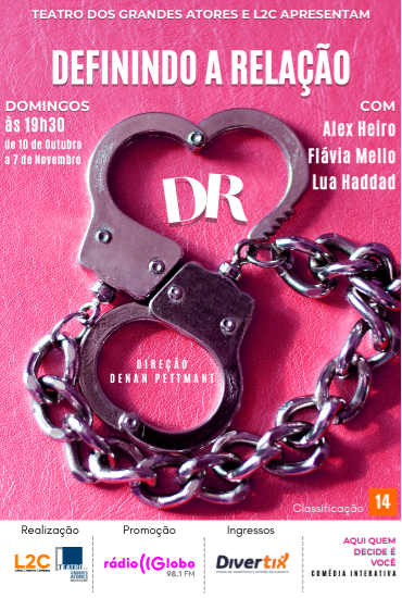 Capa da peça DR: Definindo a Relação