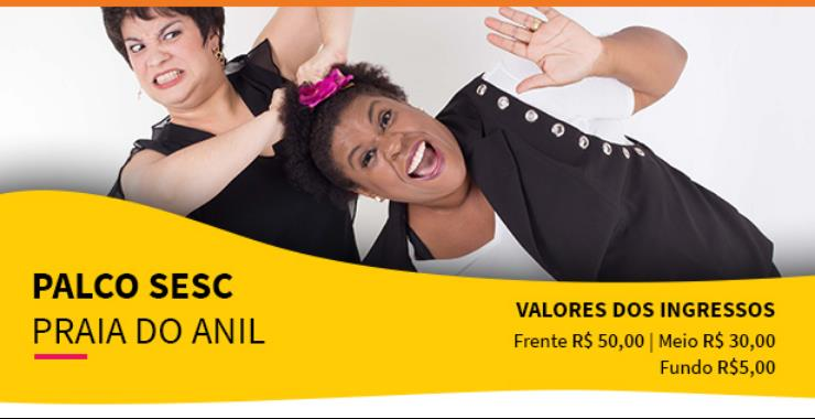 Banner da peça Palco SESC - Misericórdia