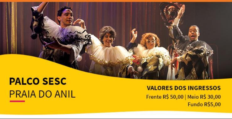 Banner da peça Palco SESC - Elizeth A Divina