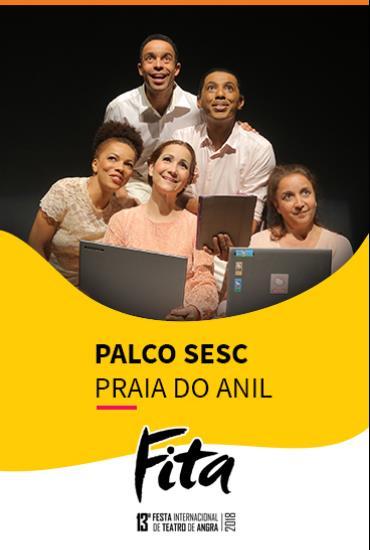 Capa da peça PALCO SESC  - O Choro De Pixinguinha
