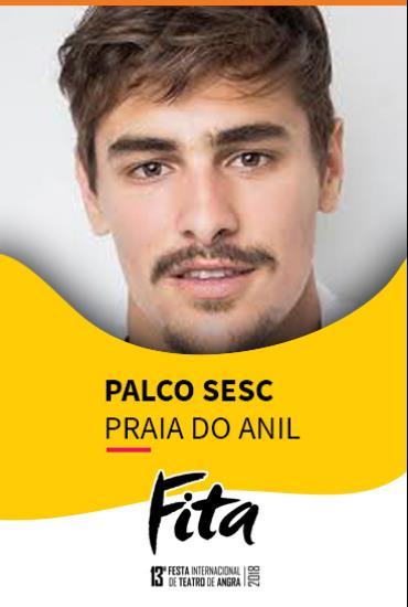 Capa da peça Palco SESC - Não Me T.O.C